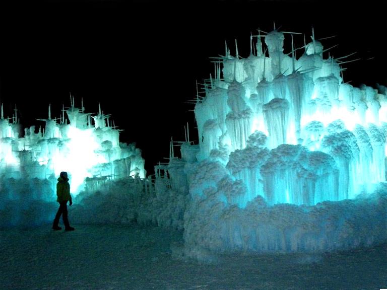 Замки мечты: ледяной рай