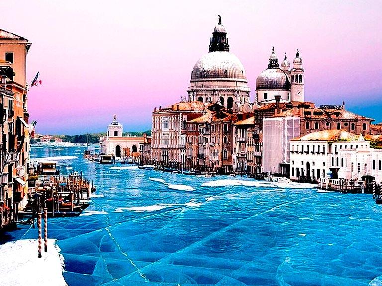 Венеция окованная льдами
