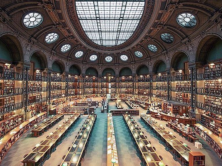 Парижская-Национальная-библиотека