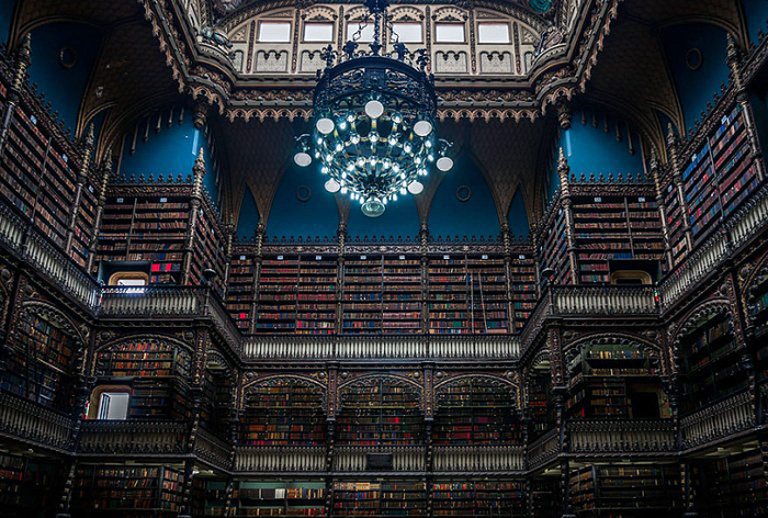 Библиотека Real Gabinete Portugues De Leitura Рио-Де-Жанейро