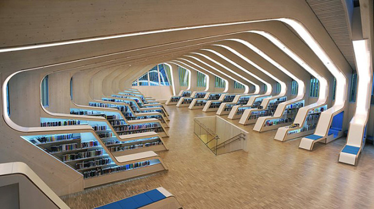 Библиотека. Норвегия.